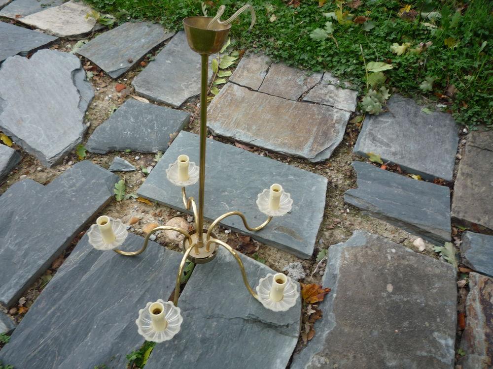 Lustre avec bobèches en verre 15 Castres (81)