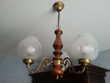 lustre bois 3 lampe très joli 35 Raon-l'Étape (88)