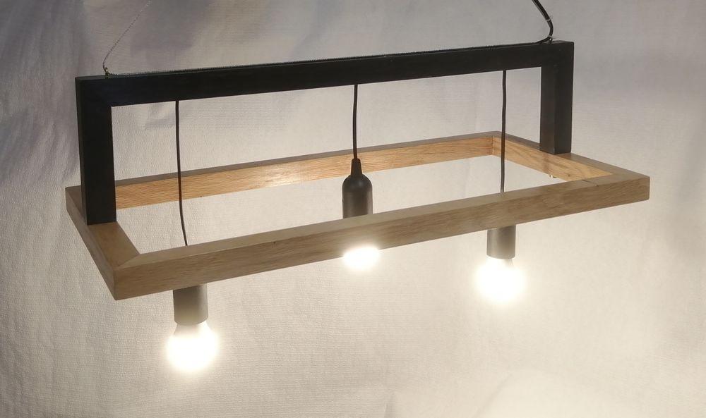 lustre en bois  80 Pontcharra (38)