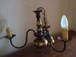 Lustre chandelier en laiton