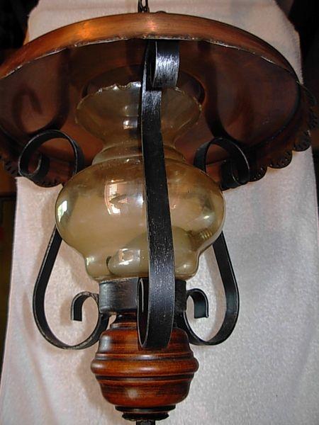 Lustre cuivre rustique 20 Le Bourget-du-Lac (73)