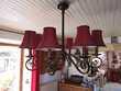 lustre en fer forgé 8 lampes 80 Seyssel (74)