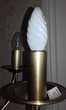 Lustre 6 lampes C.V.L. CHATELET en Laiton massif bruni Décoration