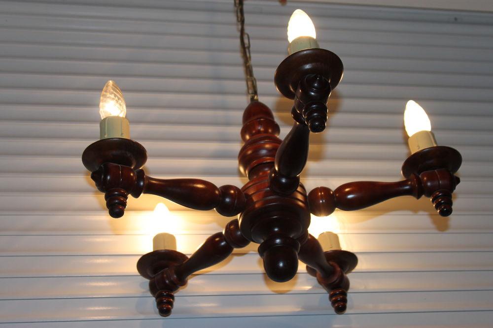 Lustre à 5 lampes  35 Montigny-Lencoup (77)