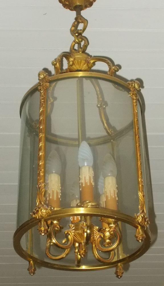 Lustre lanterne 6 points Décoration