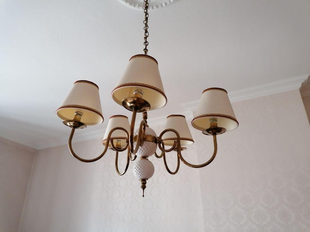 Lustre, luminaire, éclairage, ampoule, plafonnier 25 Villeurbanne (69)