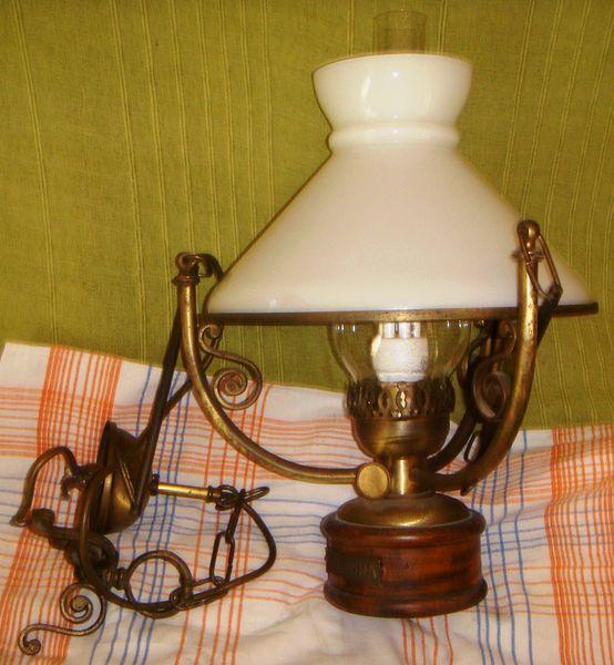 lustre style lampe a pétrole 40 Libourne (33)