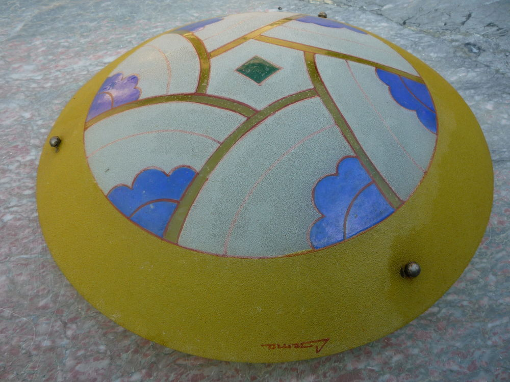 Lustre,suspension,plafonnier art déco,verre  65 Castres (81)