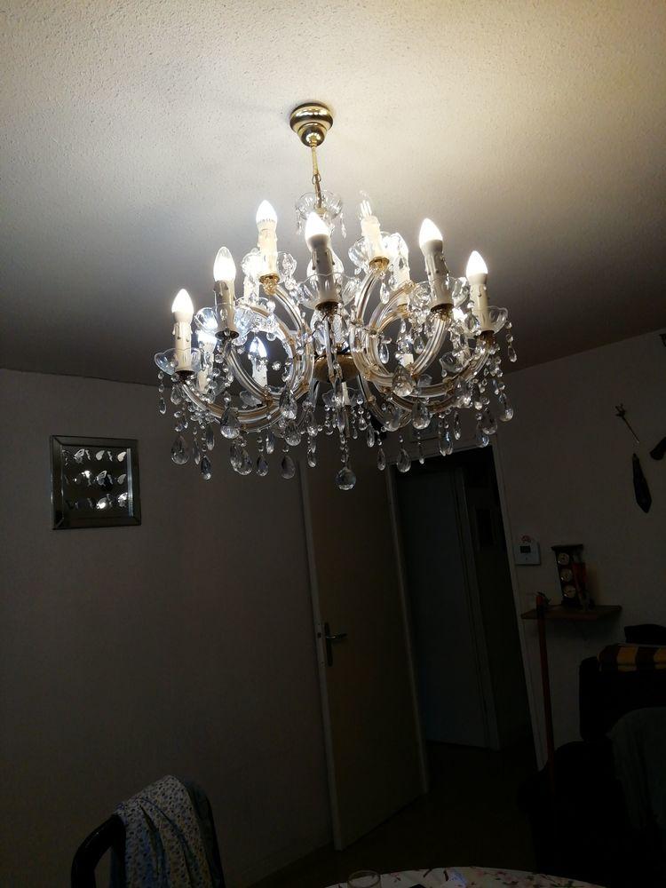 AV lustre tout en verre 15 lampes de salle à manger 300 Bordeaux (33)