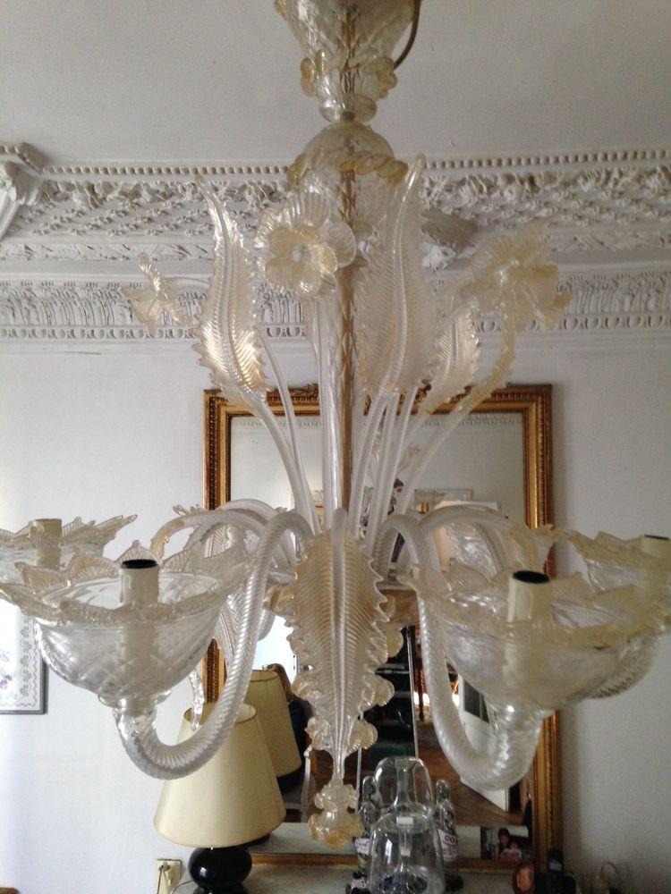 lustre vénitien Décoration