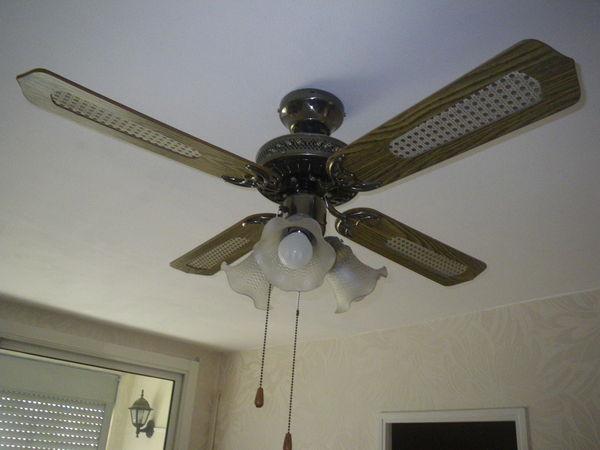 lustre ventilateur 3 vitesses Décoration
