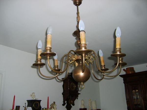 Achetez lustre ancien lustre occasion annonce vente s te 34 wb146557681 - Maison du monde lustre ...