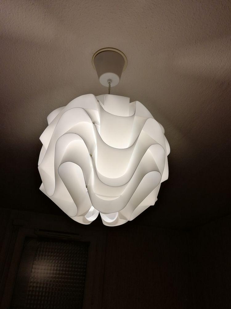 3 lustres :forme lampion, forme ronde & feuilles tombantes 5 Nice (06)