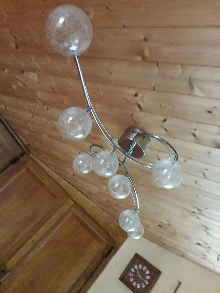 Lutre avec 8 lampes  60 Trélon (59)