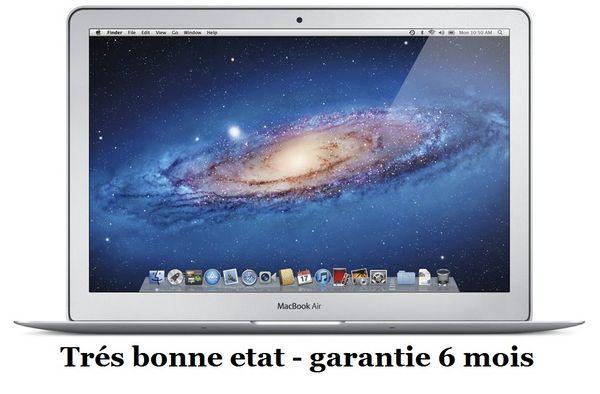 MacBook Air A1369 13.3/1.86GHz/2Go/128Go Matériel informatique