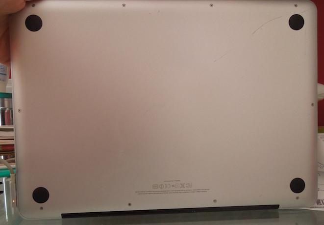 Macbook Pro 13 pouces - Mi-2012 - 2,5 GHz Intel Core i5 Matériel informatique