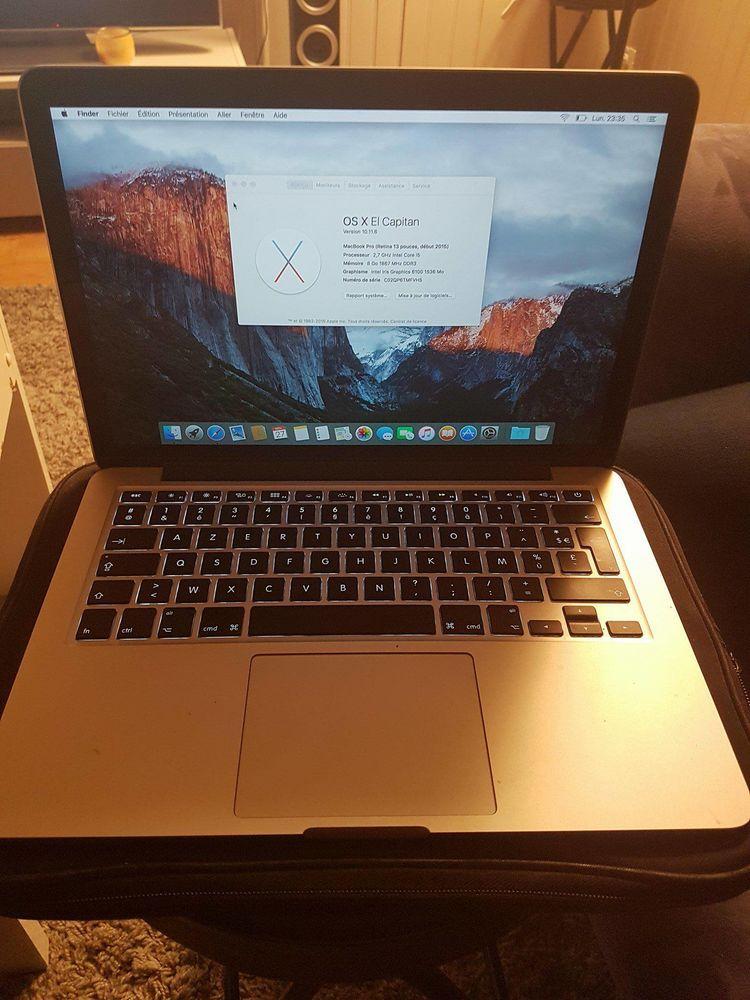 Macbook pro 13,3 pouces 750 Lyon 6 (69)