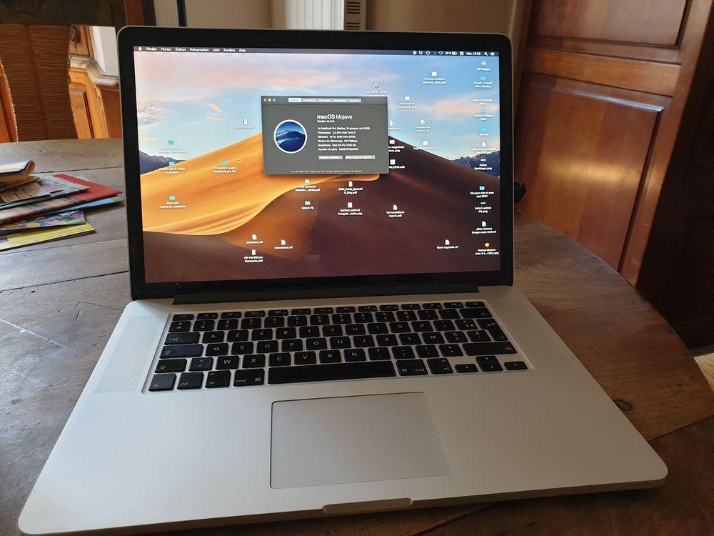 MacBook Pro 15', Rétina, modèle mi-2015 (achat 2016) i7 1200 Bourgoin-Jallieu (38)