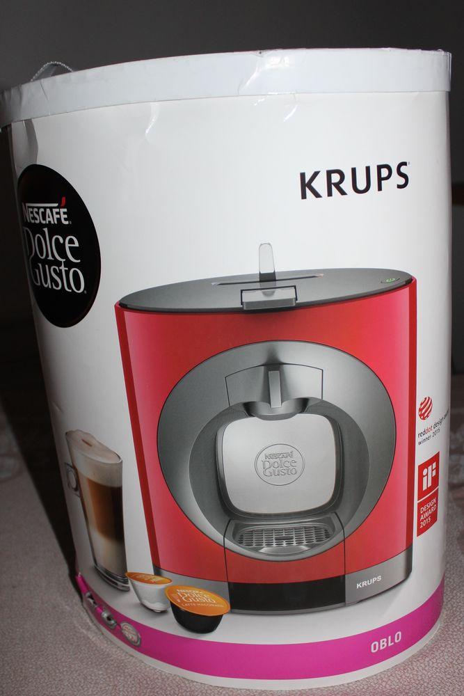 Machine à café Dolce Gusto Oblo Rouge 50 Villeurbanne (69)