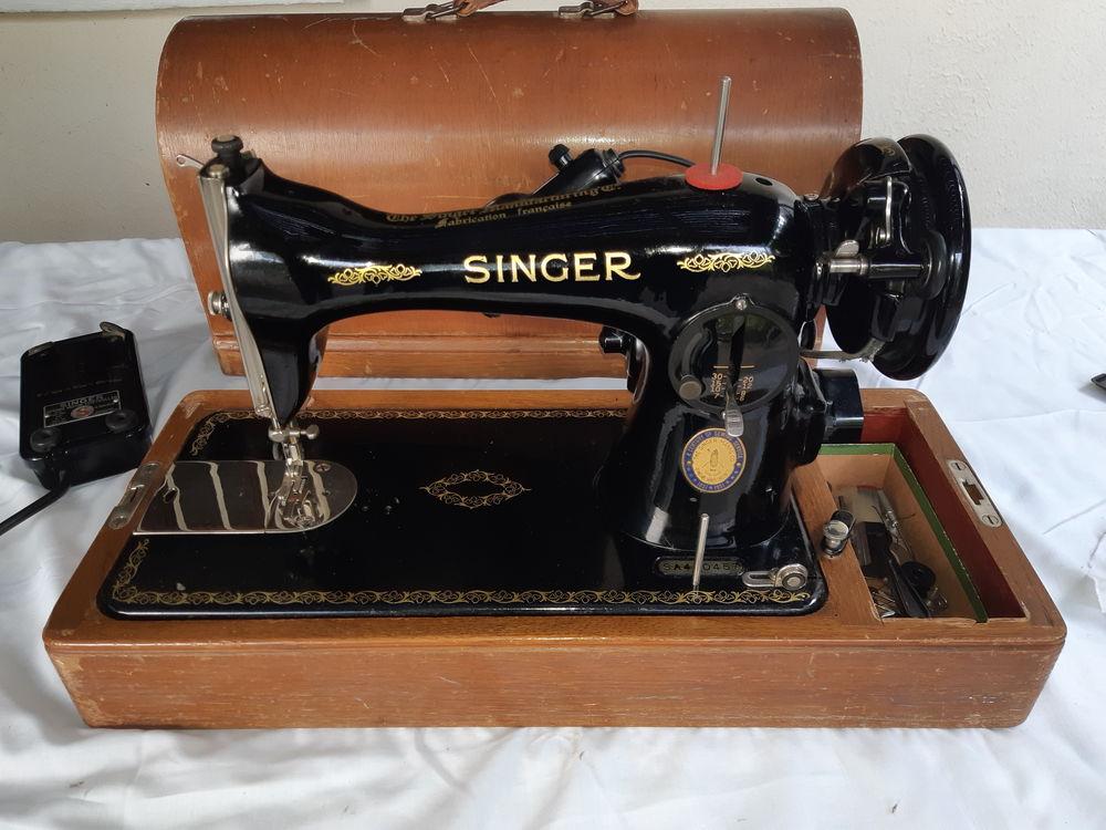 Machine à coudre ancienne Singer 120 Cachan (94)