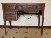 machine coudre electrique et meuble 50 Labescau (33)
