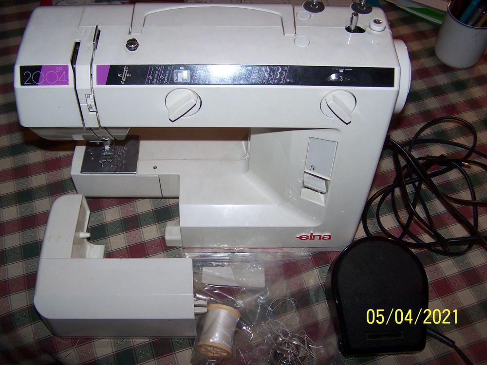 Machine a coudre elna 2004 sp 500 Issy-les-Moulineaux (92)