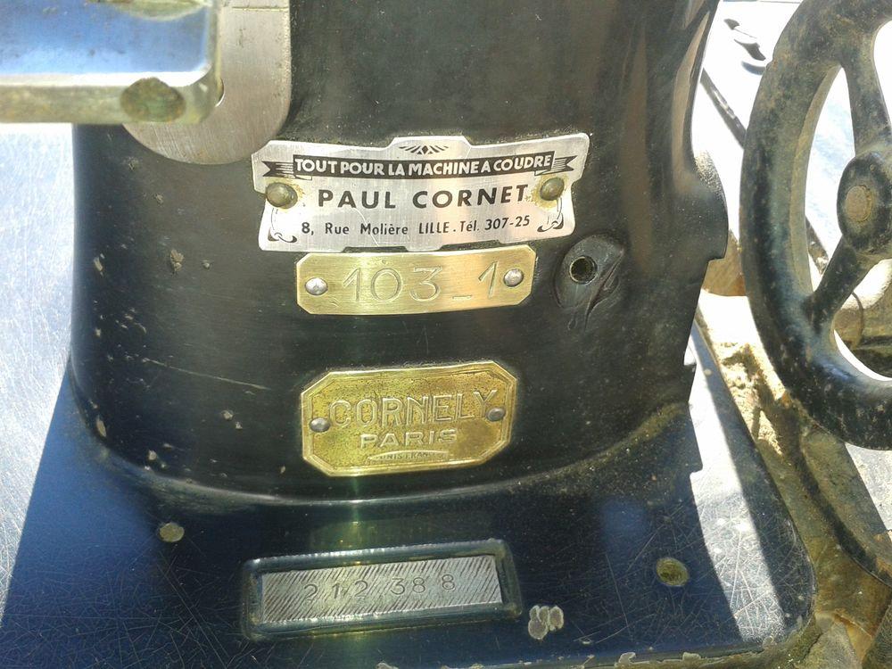 MACHINE A COUDRE PROSESSIONNELLE  CORNELY  1700 Villers-en-Cauchies (59)