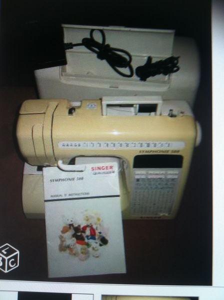 MACHINE À COUDRE SINGER SYMPHONIE 500 1200 Sceaux (92)