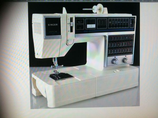 machine à coudre SINGER SYMPHONIE 300 400 Sceaux (92)