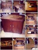 Machine à Coudre  SINGER ORIGINAL 215 G Encastrable .. 70 Colmar (68)