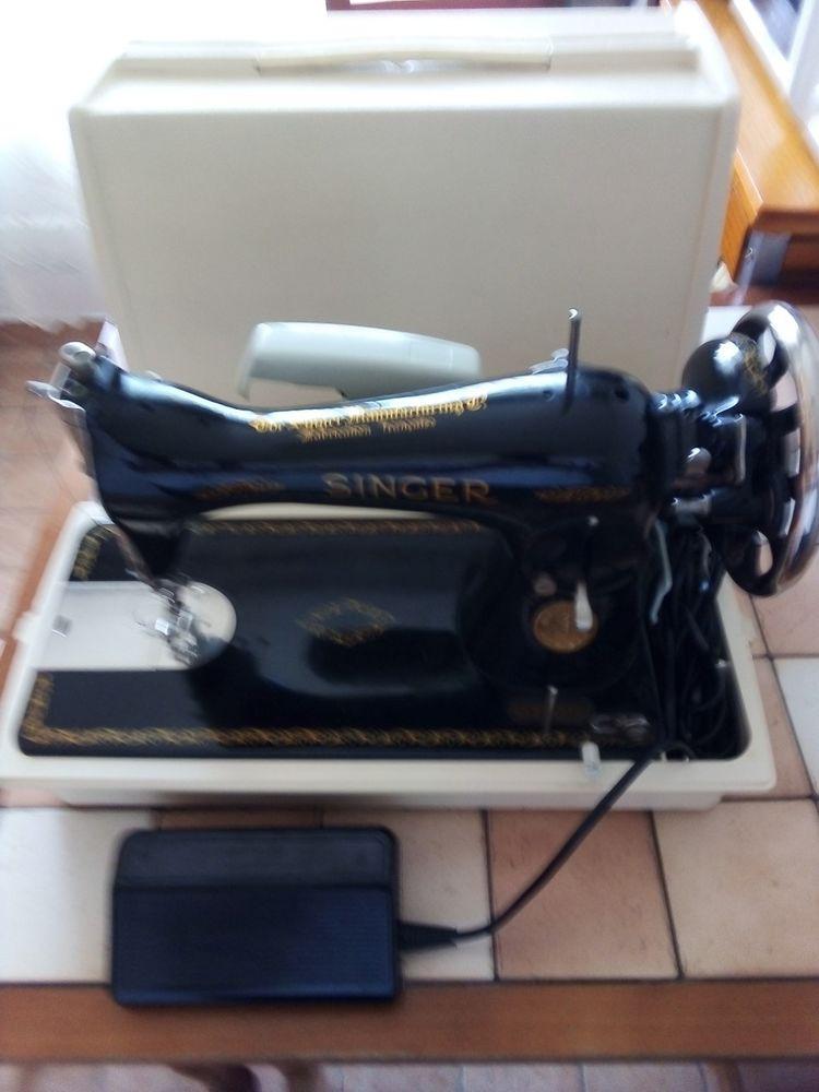 Machine à coudre Singer électrifiée 180 Neuilly-sur-Marne (93)
