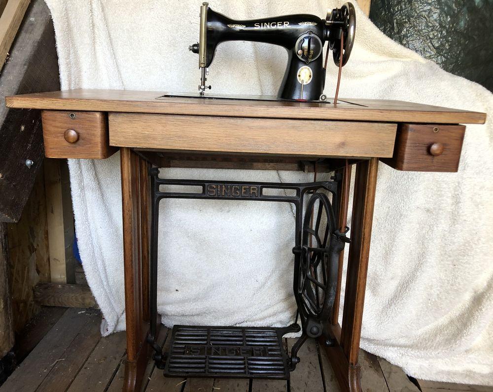 Machine à coudre Singer 15b88 sur table et accessoires 50 Metz (57)