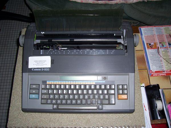 MACHINE A ECRIRE CANON S 300 35 Soullans (85)