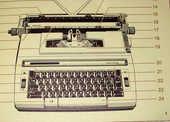 machine a ecrire SMITH CORONA STERLING 30 Paris 19 (75)