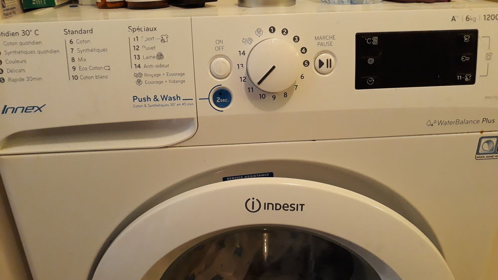 Machine à laver Indesit 6kg. Récente. Excellent état.  150 Sevran (93)