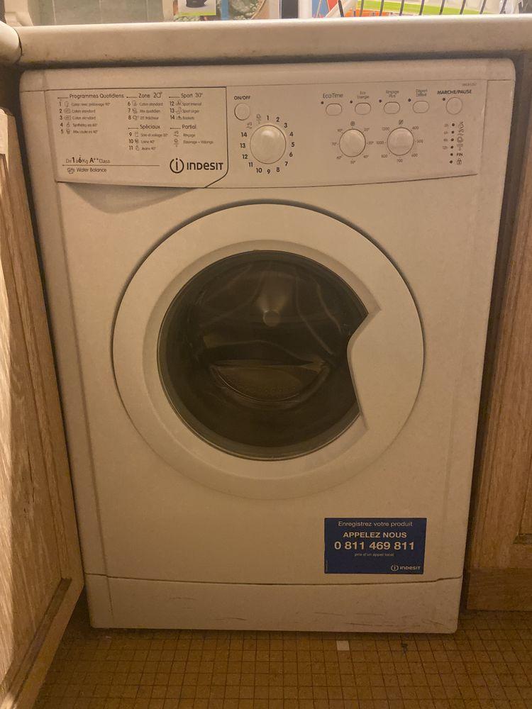 Machine à laver parfait état - Indesit 6kg A++ 130 Vincennes (94)
