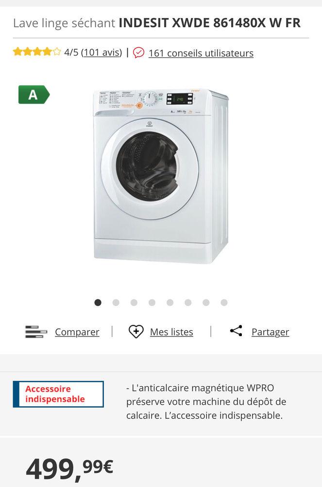 Machine à laver séchante Indesit neuve 0 Paris 11 (75)
