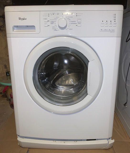 Machine à laver Whirlpool 7kg AWOD7232 260 Longlaville (54)