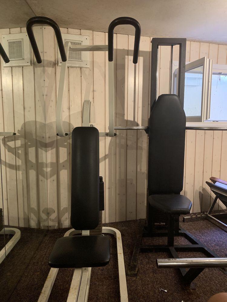 Machines Fitness Bras, pectoraux, abdos et jambes 0 Veigy-Foncenex (74)