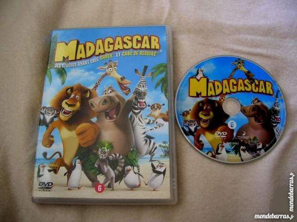 DVD MADAGASCAR - Dessin Animé 8 Nantes (44)