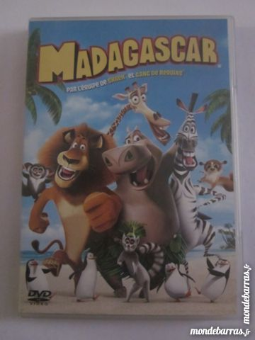 DVD  madagascar 5 Brest (29)