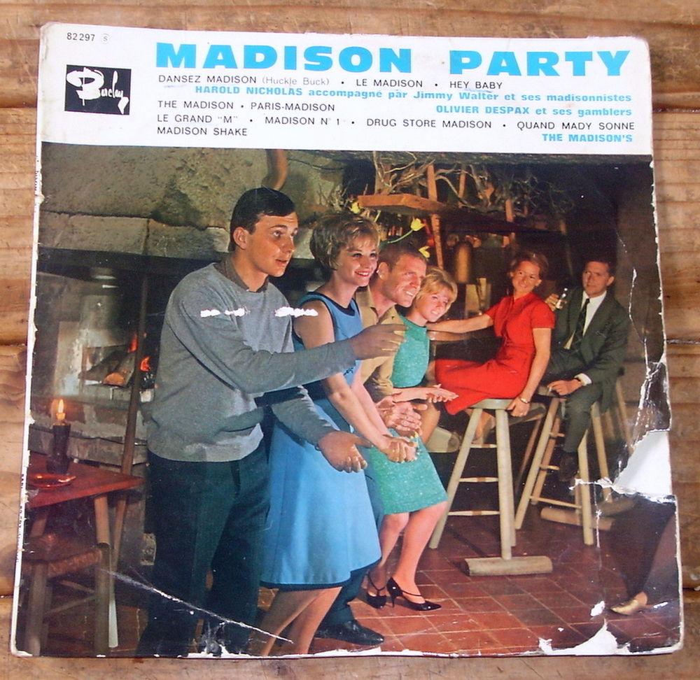MADISON PARTY-33t/25cm-OLIVIER DESPAX-HAROLD NICHOLAS-BIEM62 6 Tourcoing (59)