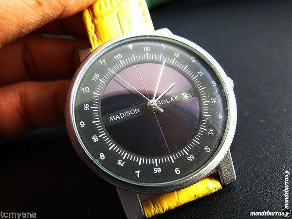MADISON rare montre solaire DIV0426 95 Metz (57)