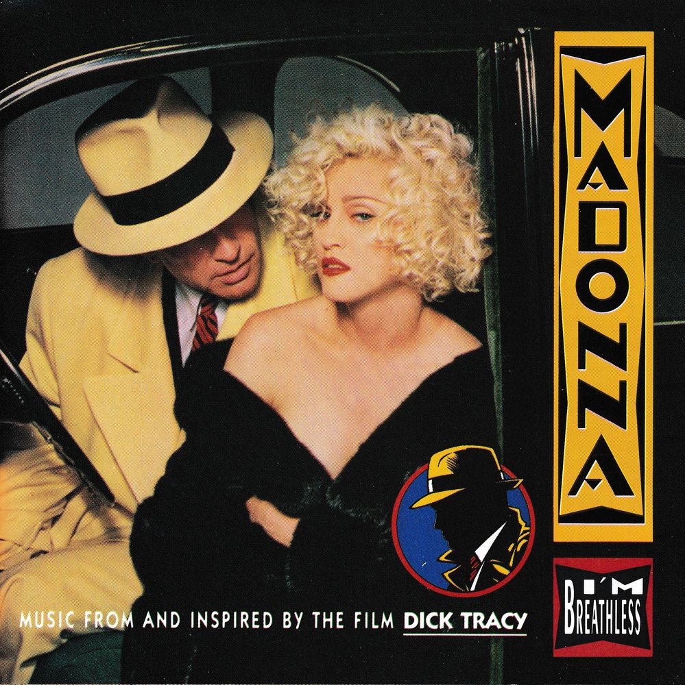 CD Madonna I'm Breathless Music From Dick Tracy CD et vinyles