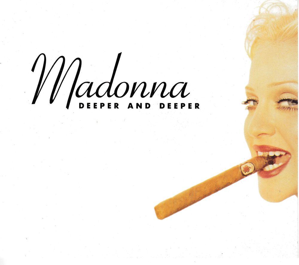 CD Madonna Deeper and Deeper CD et vinyles