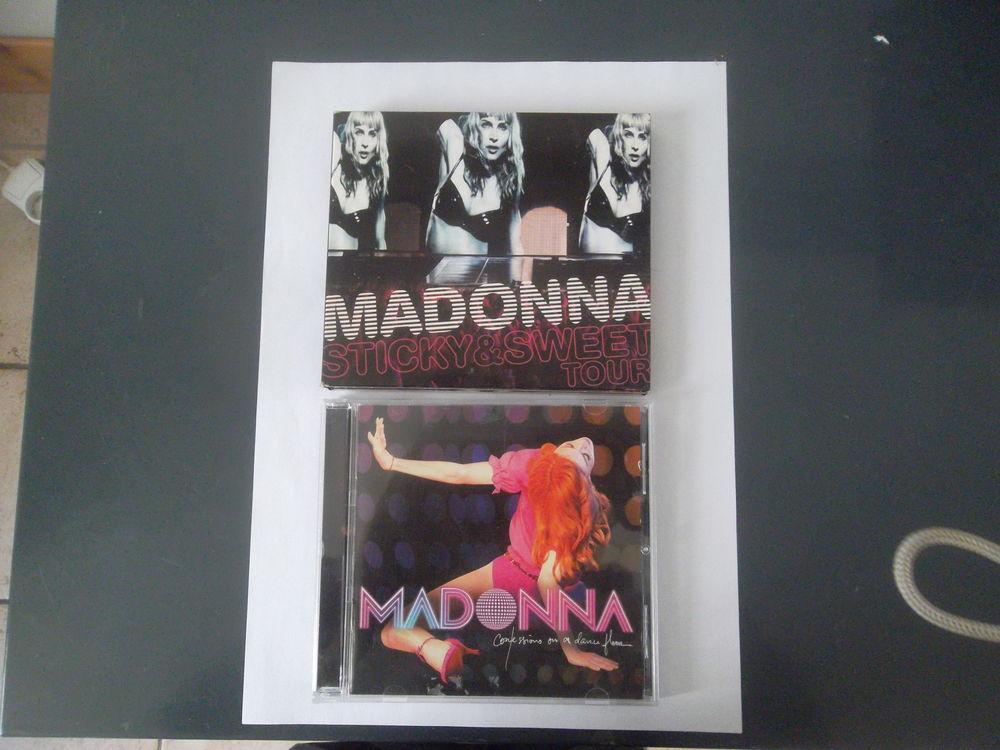 4 CD de MADONNA + 1 DVD 15 Marseille 4 (13)