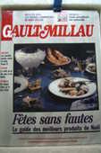 Magazine Collector Gault&Millau couverture porcelaine 0 Paris 16 (75)
