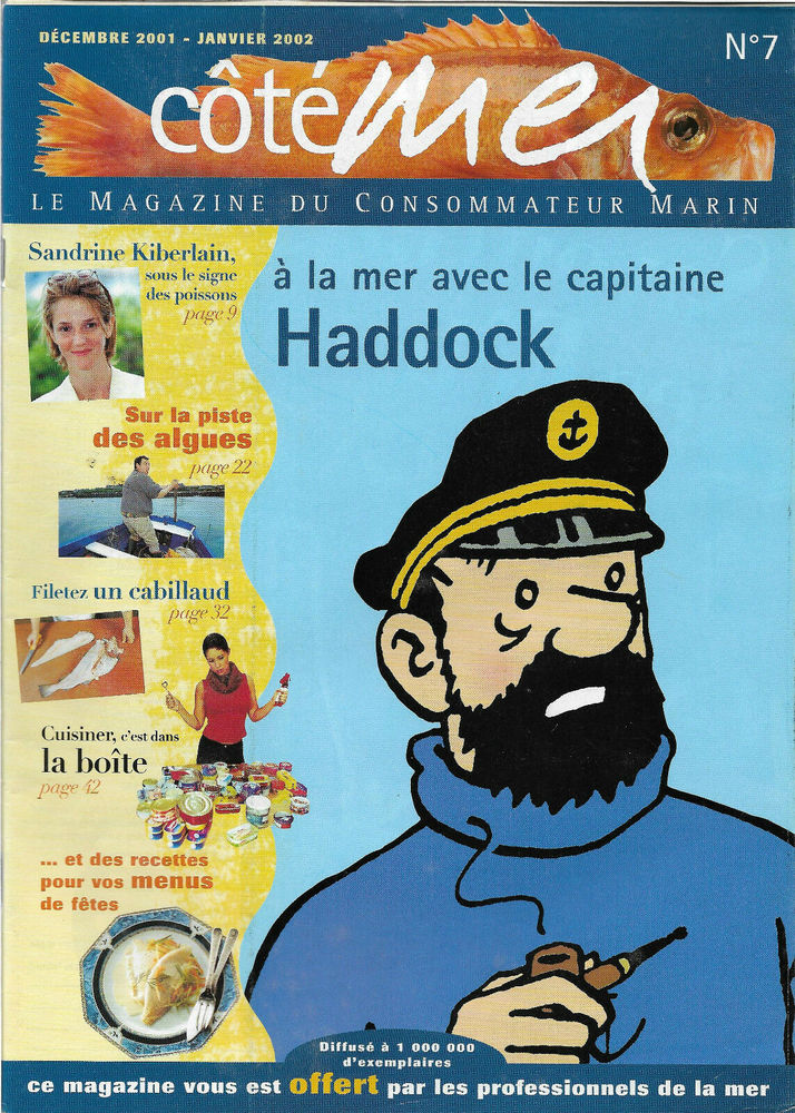 Magazine Coté Mer N°7 Capitaine Haddock 8 Ploemeur (56)
