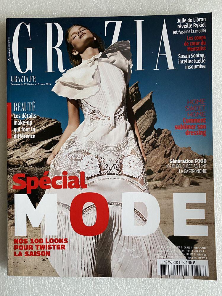 Magazine GRAZIA N°282 Mars 2015 special mode MARLOES HORST 8 Joué-lès-Tours (37)