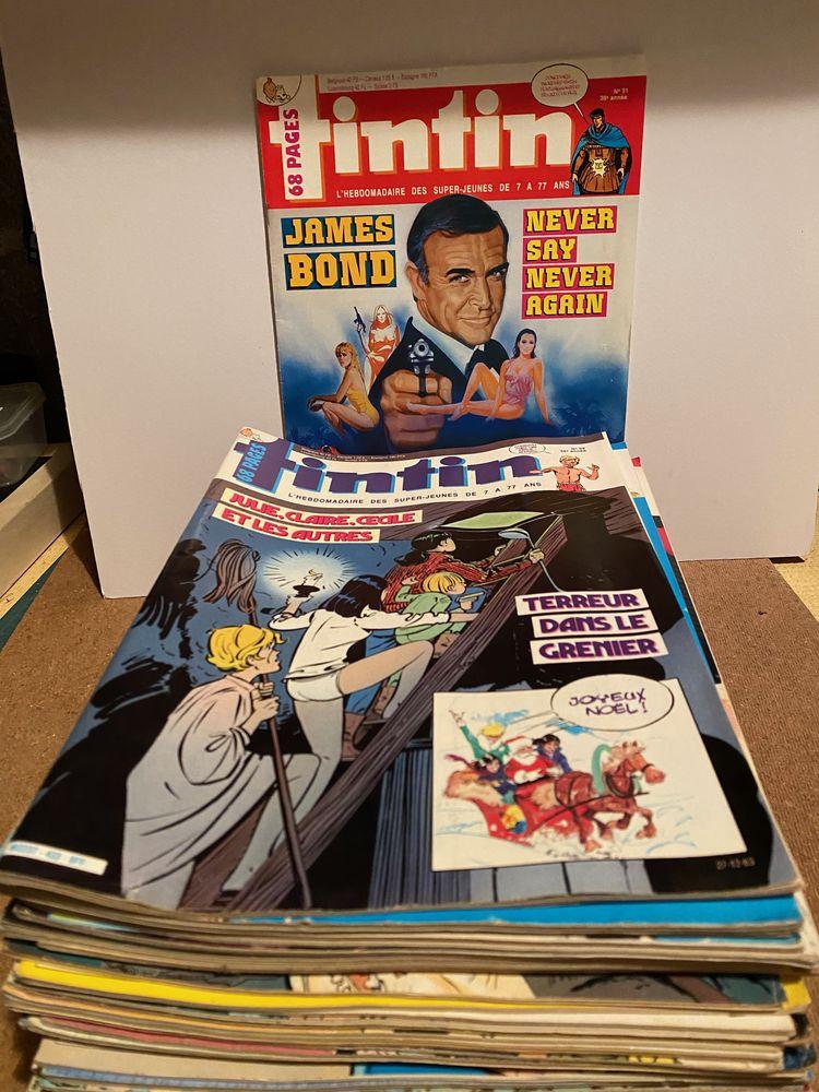 Lot de magazine hebdomadaire Tintin Année 1980 0 Fontenay-sous-Bois (94)